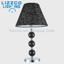 Contemporary Black pattern Shade Desk Lamp