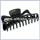 Large Claw Hair Clips Jumbo Hair Clamp Black 5""