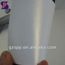 Snow white pearl paper