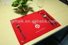 Fabric Christmas table mat