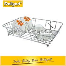 Stainless steel Corner Wire Basket Shelf Kitchen