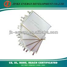 3.7v 3000mah rechargeable li polymer battery 655575 3000mah portable power bank battery