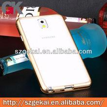 metal unique phone case for samsung galaxy note 3