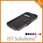 Korean brand IST SOLUTION high quality for GALAXY NOTE2 DIRECT leather smartphone case