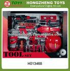 Kids plastic toys tool kit play set,toys tool set,DIY tool toys set 36 pcs H013468