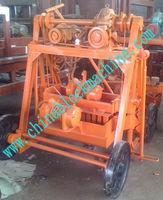 QT40-3B small moving brick/block making machine for Sierra Leone