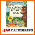 colorful funny children activity book