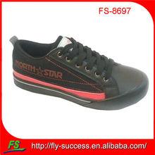 2012 low cut lace up canvas skateboard shoe