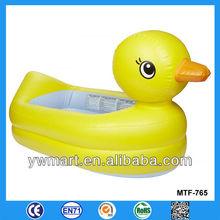 Water inflatable duck swim pool