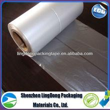 10% off biodegradable plastic film shrink/stretch film pet film rolls