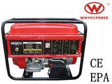 7kw/7kva AC 60hz 110v gasoline generator with 190F 15hp