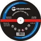 "GRASSLAND 4"" grinding wheel for metal"