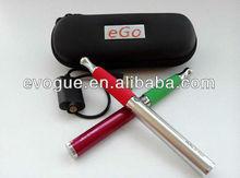 2013 e-cig adjust voltage eGo twist batteries with skillet vaporizer wax pen