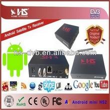 smart tv box Amazonas Android Satellite TV Receiver Free iks mini pc iptv AZ Android mini hs2