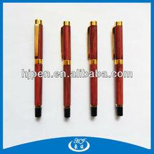 Newest design wood two-tone ball pen roller ball pen
