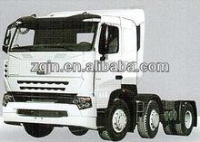 Popular Model 420HP howo a7 6x2 tractor truck