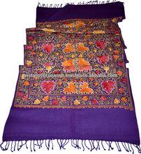 Antigüedades chales de lana, de lana de cachemira chales