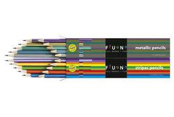 Pencils (Stripes & Metallic)