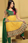 Upcoming Sleeveless Churidar Salwar Kameez