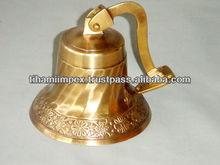 Wall Mounted Brass Bell
