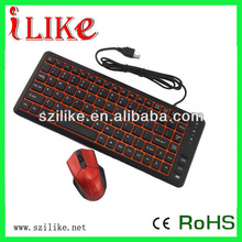 2013 hot selling USB mouse and keyboard combo KBM101