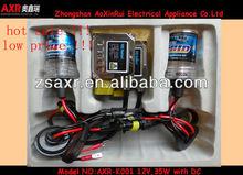 low price& hot sale&top quality Mini HID xenon ballast kits with single beam bulb