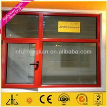 Wow!!Aluminium casement window thermally broken/aluminium thermal window/aluminum casement door profile factory supplier/OEM/ODM