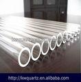 Claro de cuarzo de silicona de sílice de tubos de vidrio de cilindros de precio