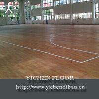 Multi-purpose and portable pvc sports floor for futsal court
