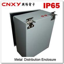 2013 new IP65 waterproof stainless steel plexiglass door power distribution box