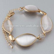SL-1247 Shipping Free Fahion Women Opal Beaded Bracelet