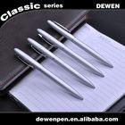 Silver light promotional metal pen