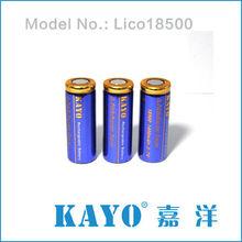 3.2V 32650 LiFePO4 battery Panasonic 18650 3400mah lithium ion battery