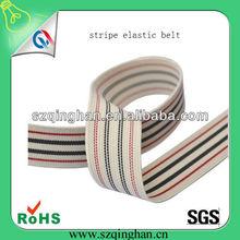 Personalized jacquard stripe elastic belt from wholesale manufacturer