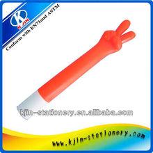New finger style promotional ball pen