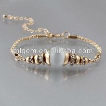 SL-1236 2013 Free Shipping Cat Eye Opal Beaded Bracelet