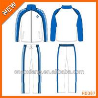 Men custom design training track suit