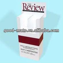 Cardboard Newspaper Stand Rack, Magazine Holder