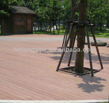 flexibility in designs recycled plastic lumber HLS-017A 150*18MM