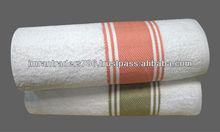 Yarn Dyed Cross Iine Fancy Towels.