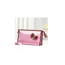 2013 Promotional Polka Dot Lady Cosmetic Bag