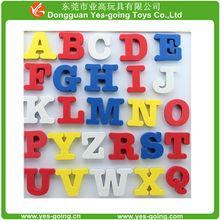 Kids preschool EVA foam education toys, alphabet letters