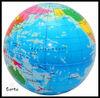 pu foam globe shape stress ball.stress relief globe