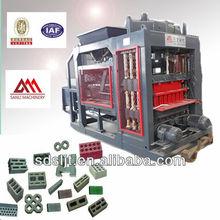 QT6-15 automatic cement block board making machine blocks production line manufacture