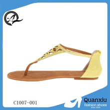 2013 ankle strap wedge heel sandals stylish flat sandals for women china wholesale sandals hot cake