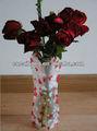pvc di plastica vaso di fiori promozionale cina vasi decorativi moderni