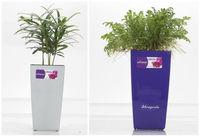 GQ1 injection flower pot, large square garden pot,vietnam flower vase