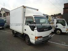 Japanese Used Truck Isuzu Elf Aluminum Van RHD KK-NKR66EAV