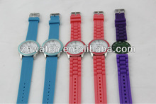 2013 new custom wristwatches hot fashion cheap silicone watches unisex design watch from China supplier in shenzhen factory