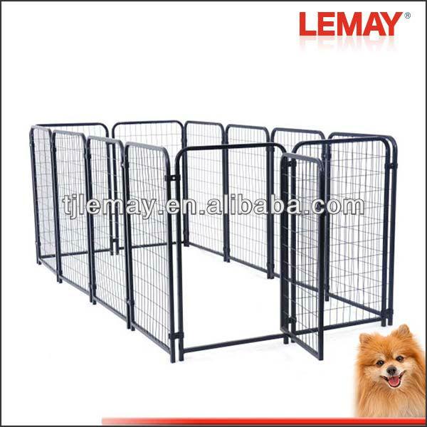 Heavy duty welded wire kennel pet supplies